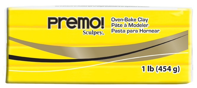 premo! Sculpey -- Cadmium Yellow Hue -- 1 lb