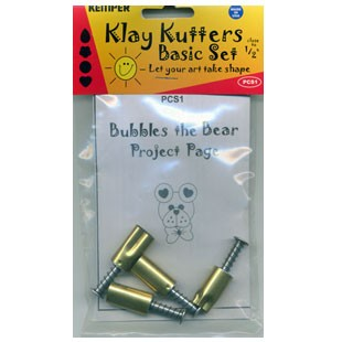 "Kemper PCS1 1/2"" Clay Cutter Set"