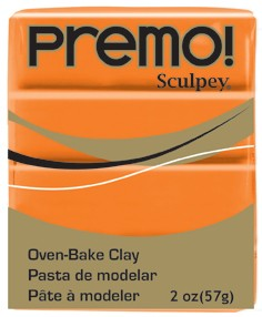 premo! Sculpey -- Orange -- 2 oz