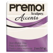 premo! Sculpey Accents -- Pearl -- 2 oz