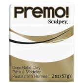premo! Sculpey -- White -- 2 oz
