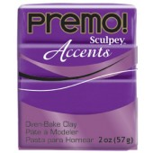 premo! Sculpey Accents -- Purple Pearl  -- 2 oz