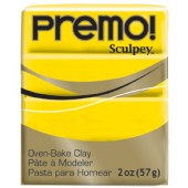 premo! Sculpey -- Cadmium Yellow Hue -- 2 oz