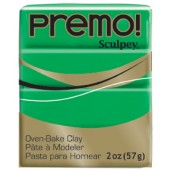 premo! Sculpey -- Green -- 2 oz