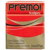 premo! Sculpey -- Cadmium Red Hue -- 2 oz