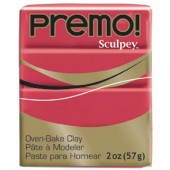 premo! Sculpey -- Pomegranate -- 2 oz