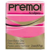 premo! Sculpey -- Candy Pink -- 2 oz