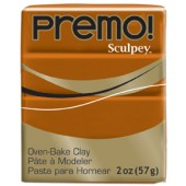 premo! Sculpey -- Raw Sienna -- 2 oz