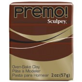 premo! Sculpey -- Burnt Umber -- 2 oz