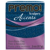 premo! Sculpey Accents -- Blue Granite -- 2 oz