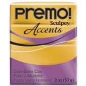 premo! Sculpey Accents -- 18K Gold -- 2 oz
