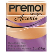 premo! Sculpey Accents -- Copper  -- 2 oz
