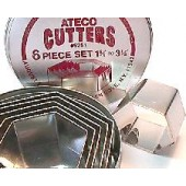Ateco Hex Cutter Set