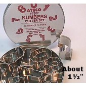 Ateco Number Cutter Set
