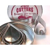Ateco Tear Drop Cutter Set